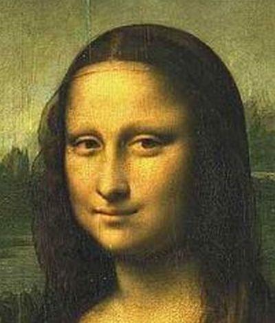 Visage de Mona Lisa