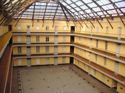 Intérieur du familistère en 2005