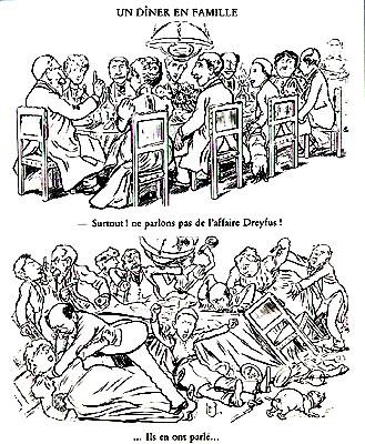 Dessin de Caran d'Ache dans le Figaro du 14 février 1898.