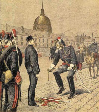 La dégradation d'Alfred Dreyfus
