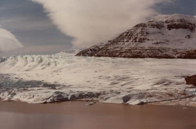 Glacier Cook en 1983