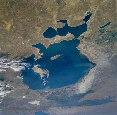 La mer d'Aral en 1985