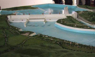 Maquette du barrage des 3 gorges