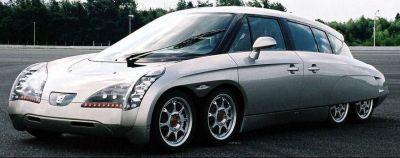 La voiture Eliica